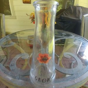 NEW Rae Dunn Flower Vase- GROW
